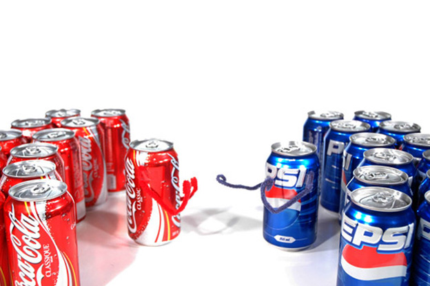 product differentiation of coca cola and pepsi