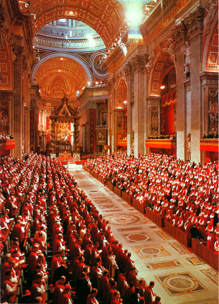 taking a look at vatican ii Following swiftly on the heels of vatican ii was the women's movement in america nuns who'd just given up their habits in favor of modern wear decided to give up the convent altogether, and membership in religious orders declined.